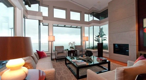 Spectacular West Coast Penthouse In Vancouver 39 S Aerie Ii Arquitectura Mesas De Centro