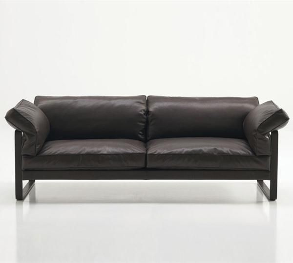 soft couches. PHAN Is A 2seater #sofa (ph02), Upholstered And Covered In Soft Leather Couches