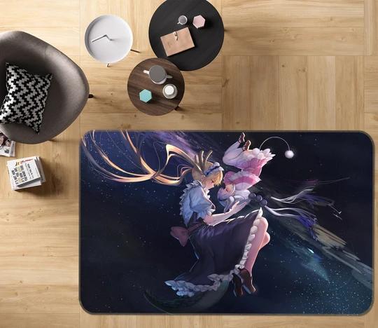 Details about  /3D Your Name 705 Japan Anime Game Non Slip Rug Mat Round Elegant Carpet