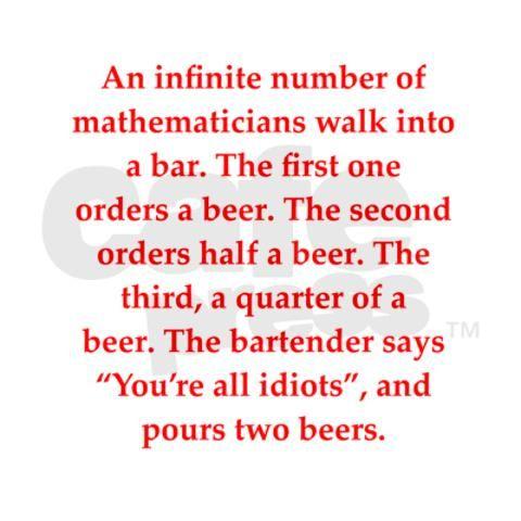 Geometric Series  Math Jokes    Geometric Series Math