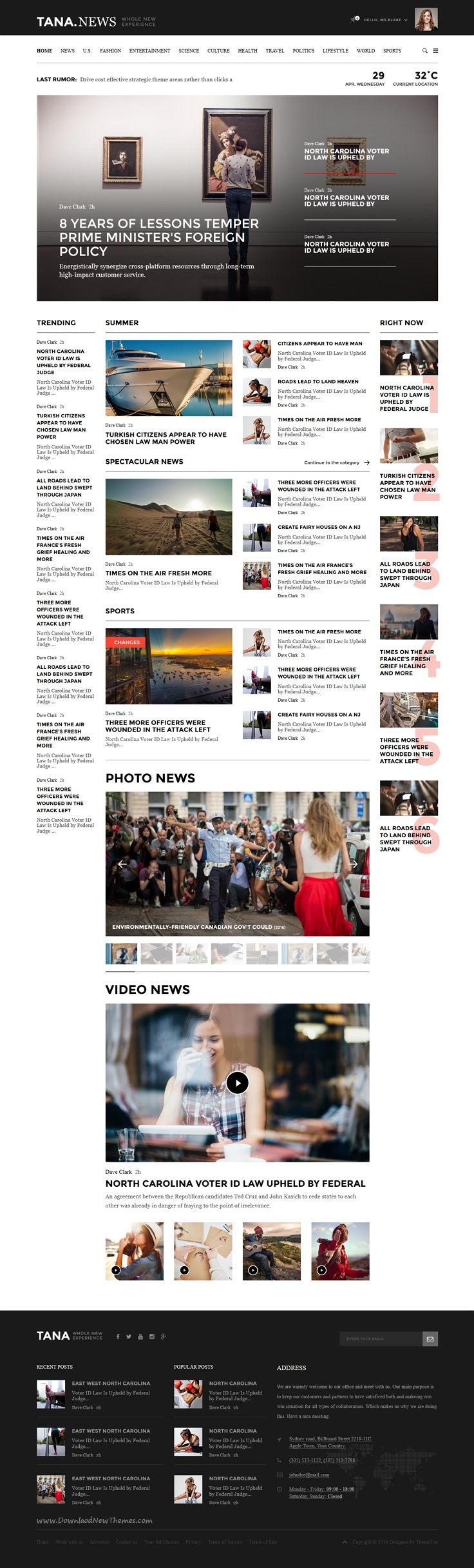 Excellent Movie Blogger Template Photos - Entry Level Resume ...