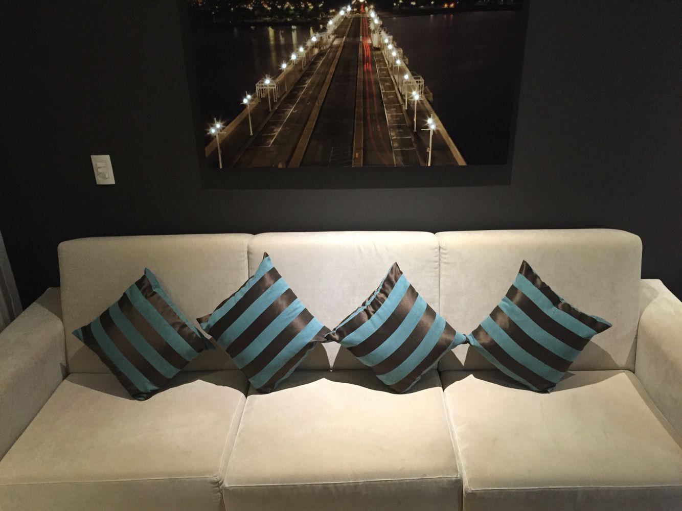 #Almofadas #Listras #Decoração #Sala #Pillows #Stripes #Decoration #LivingRoom #Room #Home