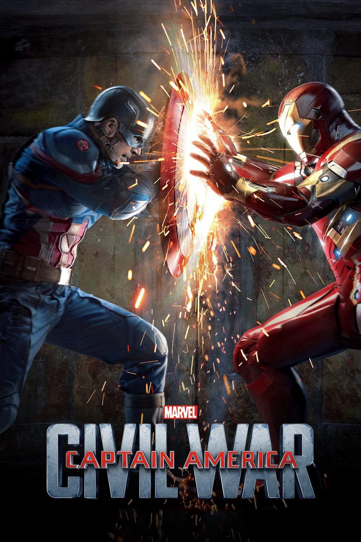 Capitan America Civil War Captain America Civil War Poster Civil War Marvel Civil War Comic