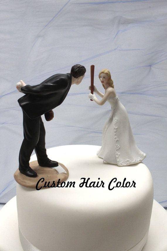 Wedding Cake Topper Personalized Wedding Couple Baseball Etsy Personalized Wedding Cake Toppers Baseball Wedding Cakes Custom Wedding Cake Toppers