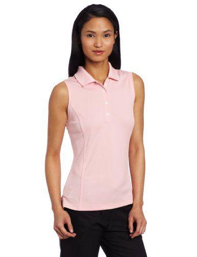 4859c452 Adidas Golf Women's Climaproof Sleeveless Solid Polo | womens ...