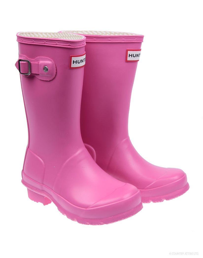 Kids hunter wellies, Boots