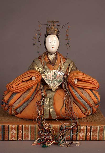 Anese Kyoho Bina Pair For The S Day Hina Matsuri Antique Dolls