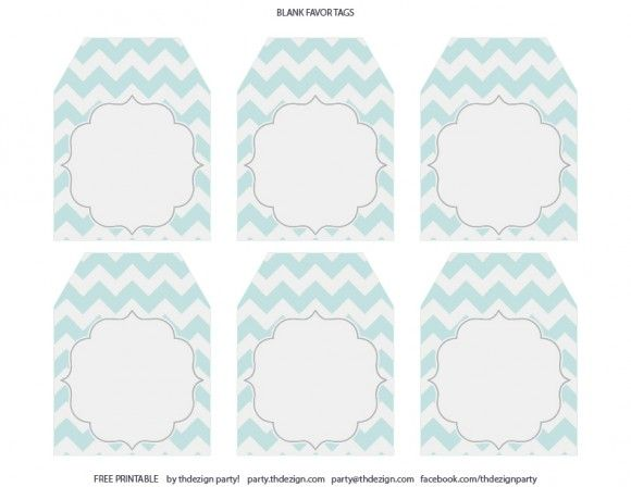 Free chevron party printables from thdezign party party free chevron party printables favor tags negle Image collections