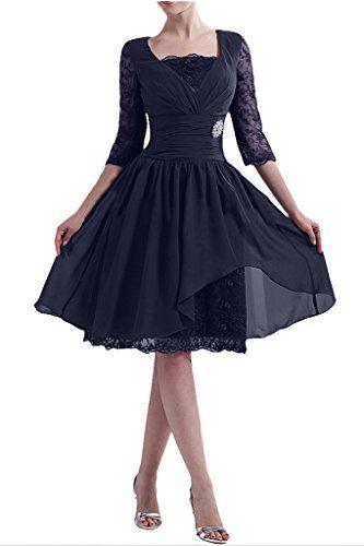 MILANO BRIDE Modest Mother Of Bride Dresses Lace Sleeves Knee Length Chiffon-10-Navy Blue MILANO BRIDE http://www.amazon.com/dp/B0154OJCQ4/ref=cm_sw_r_pi_dp_InVCwb1Q633DB