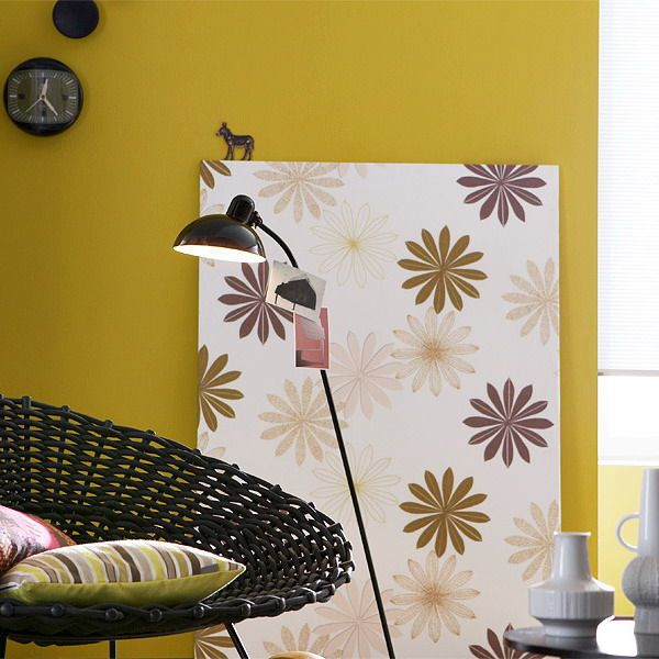 6 Modern Decorating Color Combinations, Yellow Paint Color in Fall ...
