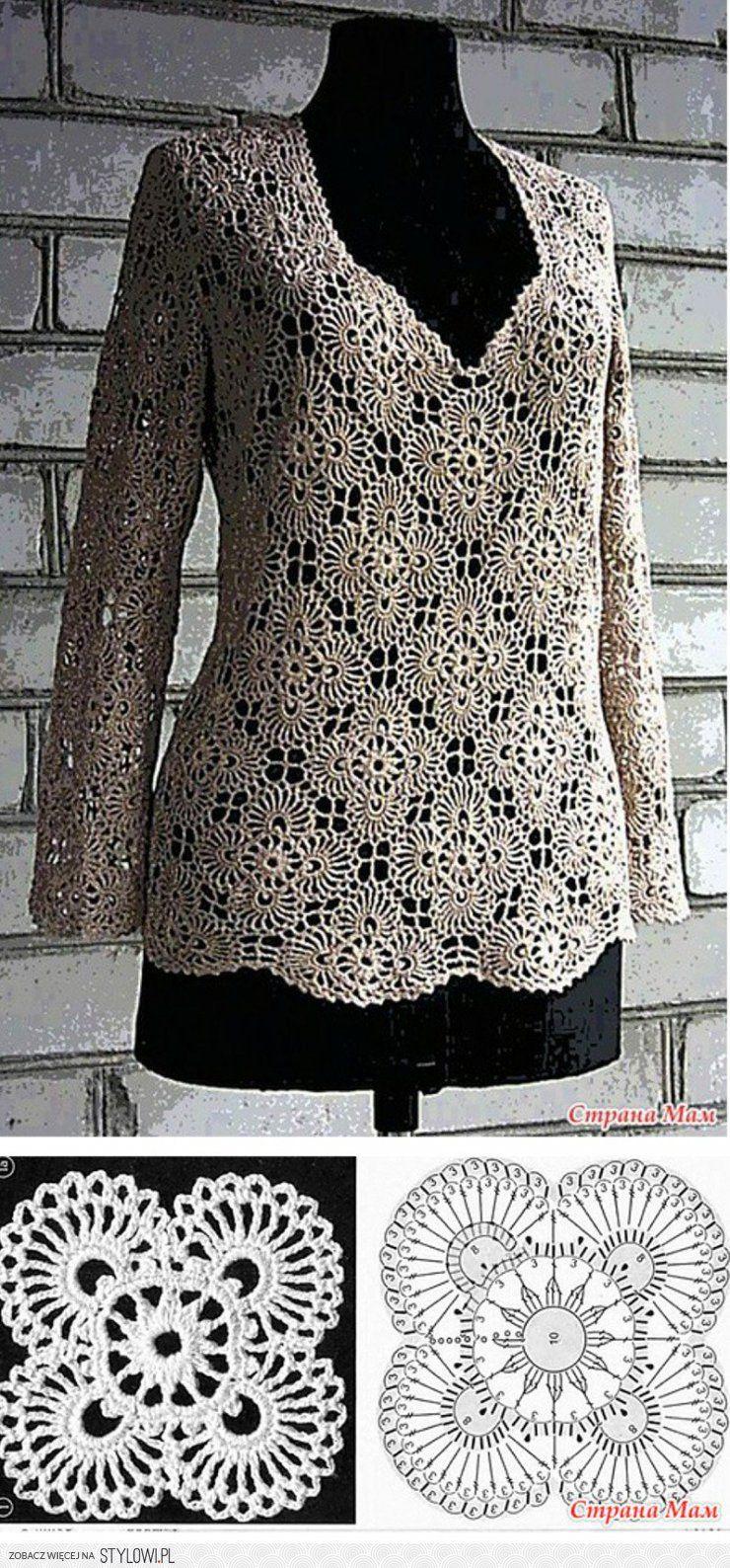 Stylowi.pl - Odkrywaj, kolekcjonuj, kupuj   Crochet   Pinterest ...