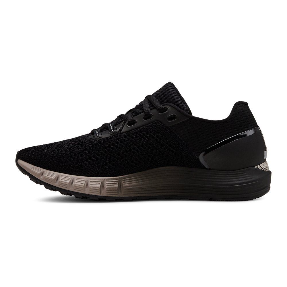 Under Armour Womens Hovr Sonic 2 Pink 11 Running Shoes All Black Sneakers Under Armour