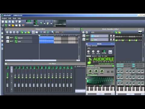 LMMS Tutorial | How to add Sidechain Compression | LMMS