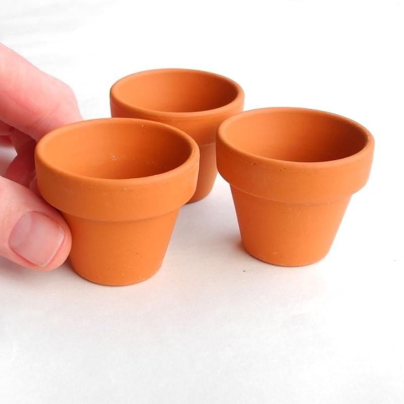 Dollhouse Miniature Large Terracotta Planter Pot