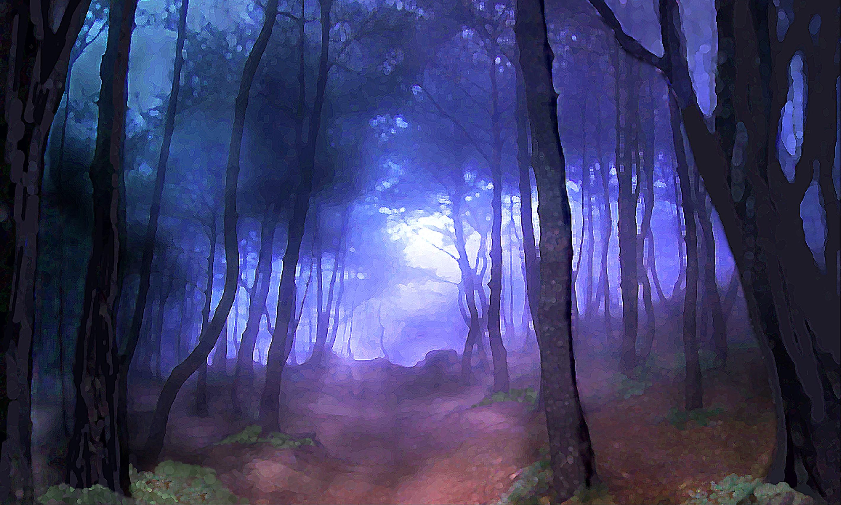 Forest Digital Painting Google Search Scene Design Digital Painting Painting