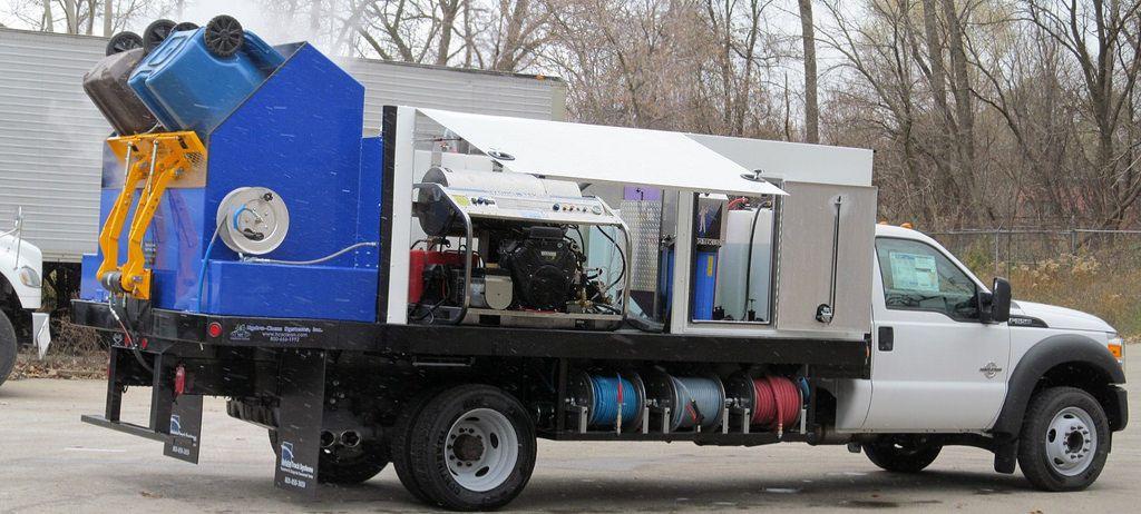 HydroChem Systems Trash Bin Cleaner Wheelie Bin Cleaner
