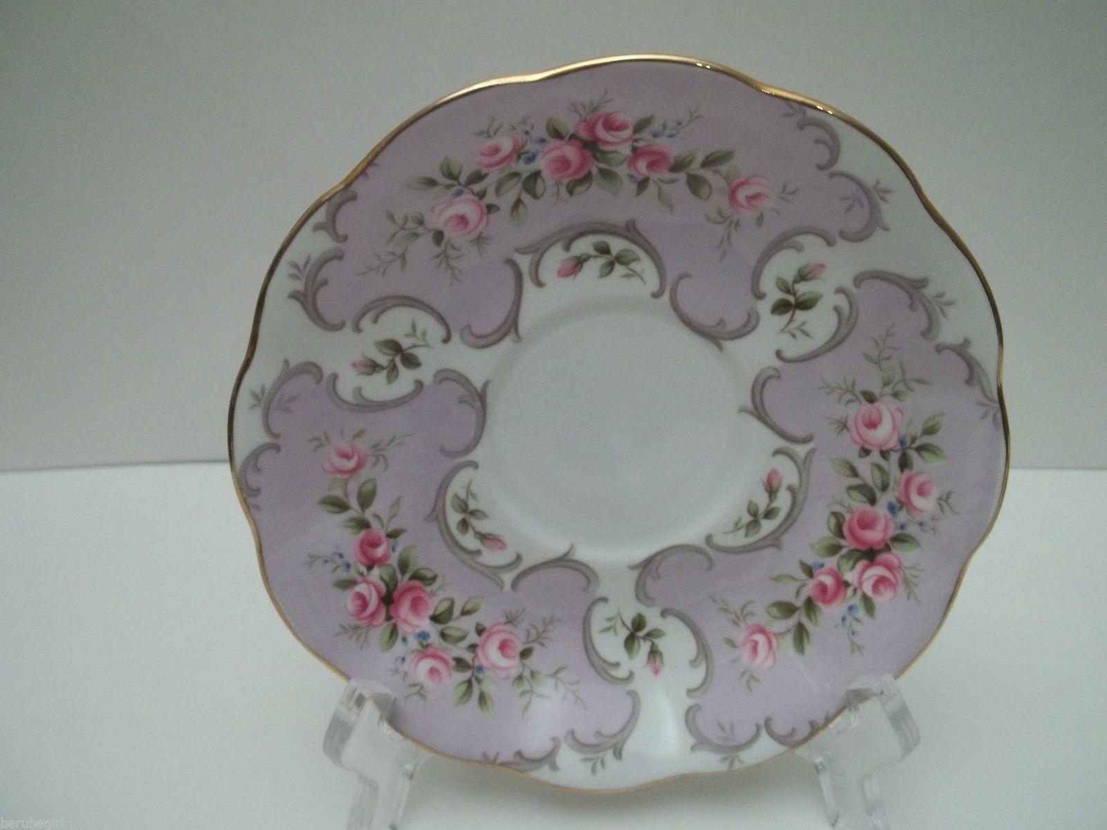 Vintage Royal Albert Rose Du Barry Series Jeanette Teacup Tea Cup Saucer | eBay