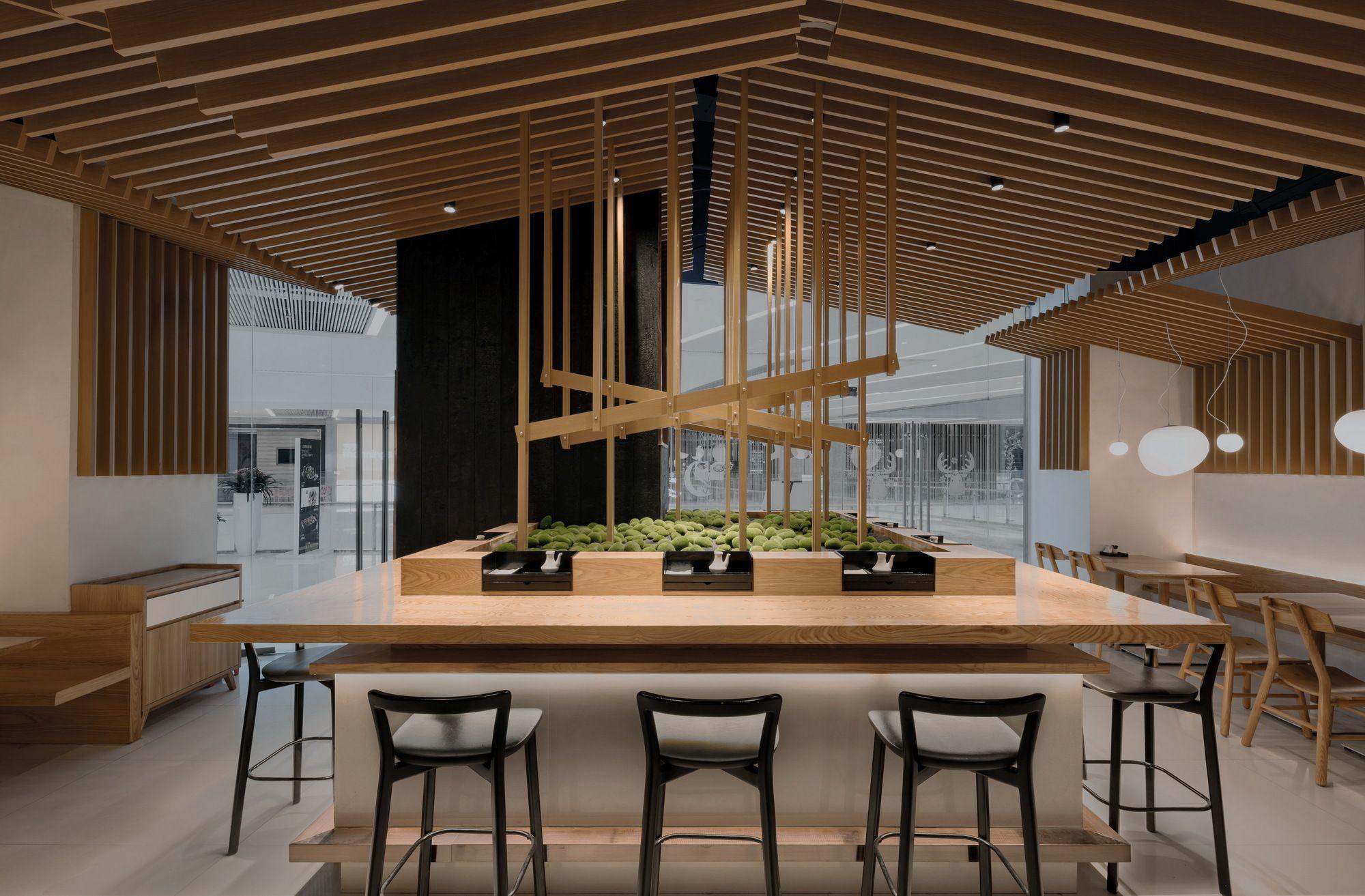 Ramen Musashi Golucci Interior Architects