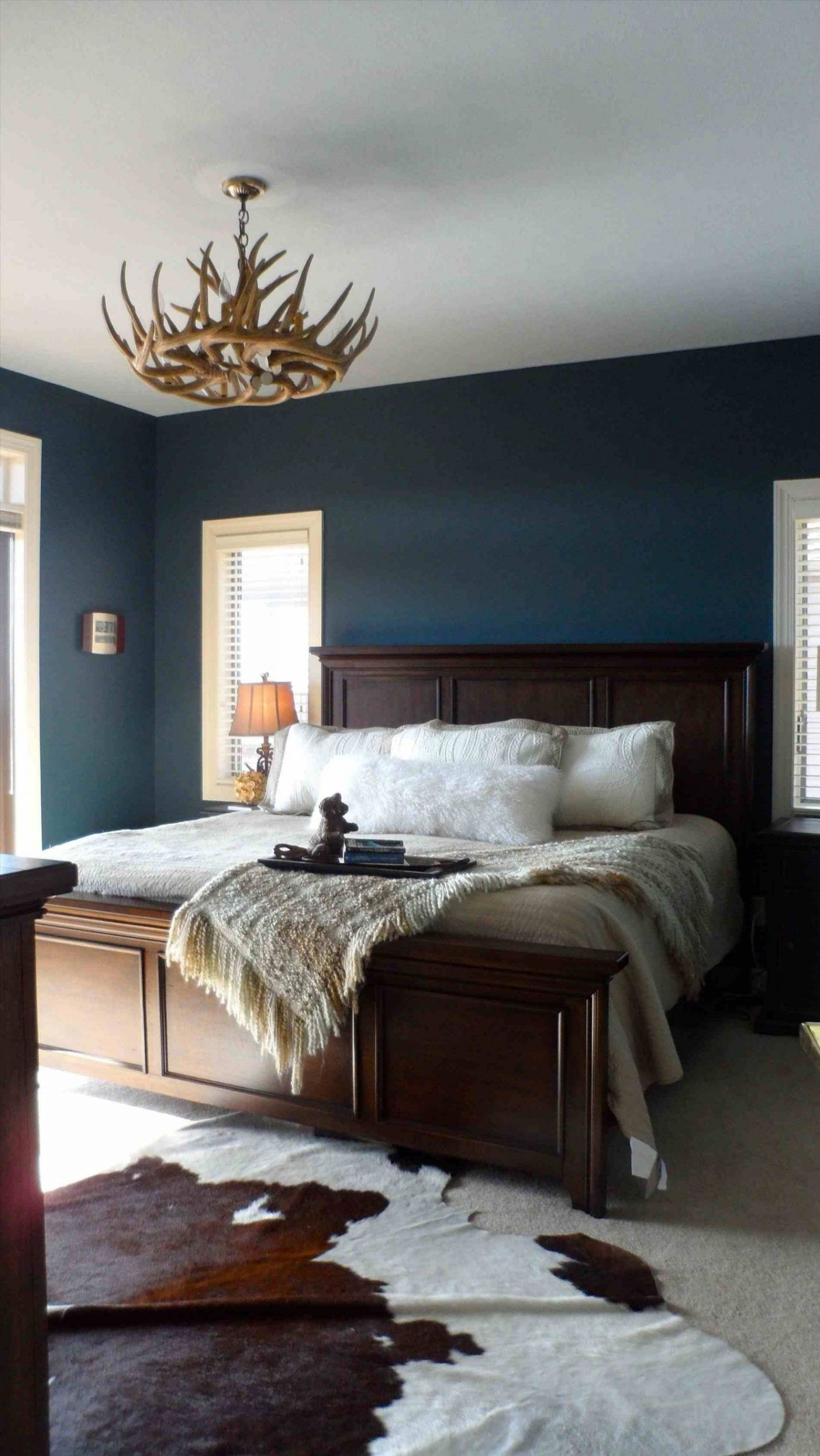Inspirational Master Bedroom Curtains Dark Furniture In 2020 Blue Bedroom Walls Blue Master Bedroom Master Bedrooms Decor