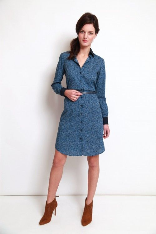 Robe femme coton liberty
