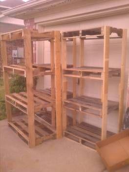 Ryobi Nation Pallet Shelves For The Garage Pallet Shelves Diy