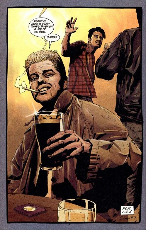 Cheers John John Constantine Constantine Hellblazer Comic Art