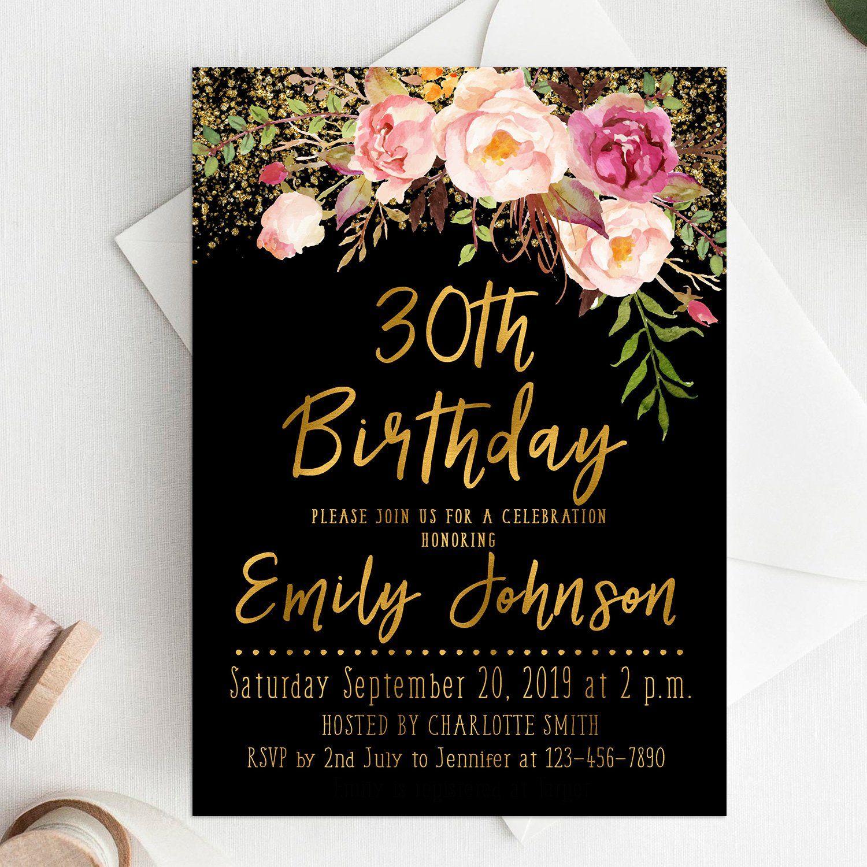 Pin on Birthday Invitation