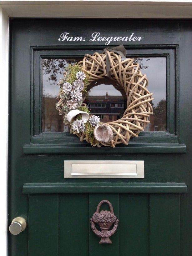 Krans Gekocht Bij De Action Door Lisavanderv Krans Decoratie Herfstdecoratie