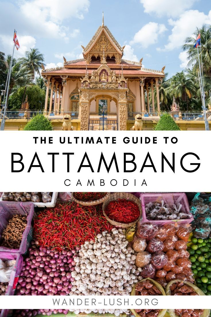 Planning a trip to Battambang? My city guide covers all the best things to do in Battambang – including lesser-known gems – plus hotel, bar and restaurant recommendations, and transport instructions. #Battambang #Cambodia   Cambodia travel   Where to go in Cambodia   Things to do in Cambodia   Battambang bamboo train   Battambang things to do   Battambang city   Battambang architecture