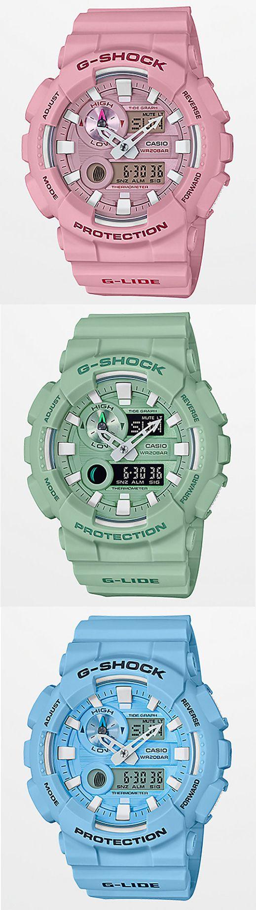 GShock GAX100CSA2A Sea Foam Green Watch Zumiez Green