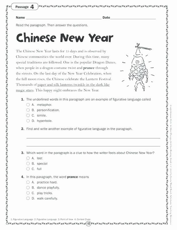 21 Reading Comprehension Worksheets for Grade 3 Pdf 70