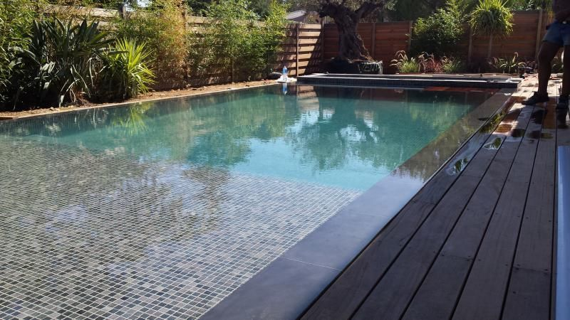 piscine à débordement #irrijardin #piscine