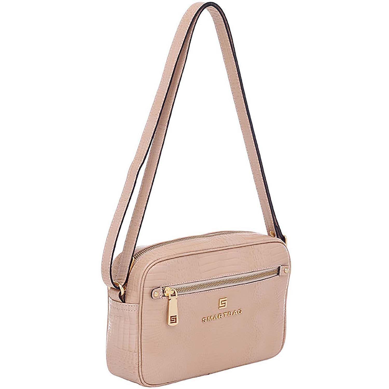 59ef1bb28 Bolsa Smartbag Couro Transversal Lagarto Areia - 73194.18 - Smartbag ...