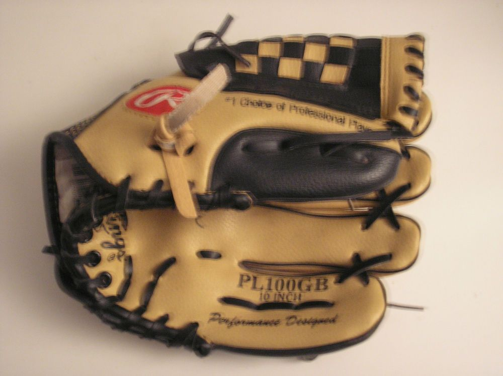Rawlings Derek Jeter Model Pl100gb Size 10 Leather Youth Baseball Glove Rawlings Ebay 10 Things Youth Baseball Gloves