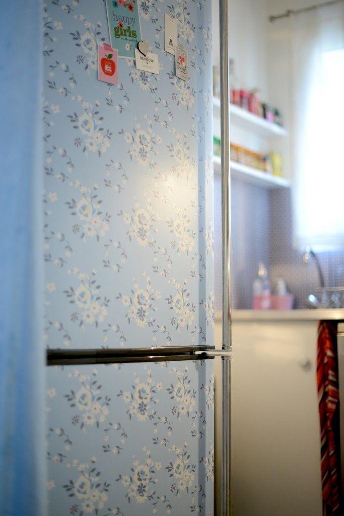 recouvrir meuble cuisine adhésif