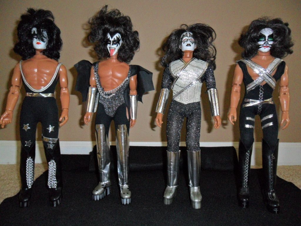 Kiss 1977 Vintage Mego Dolls Proved To Me Santa Was Real Because
