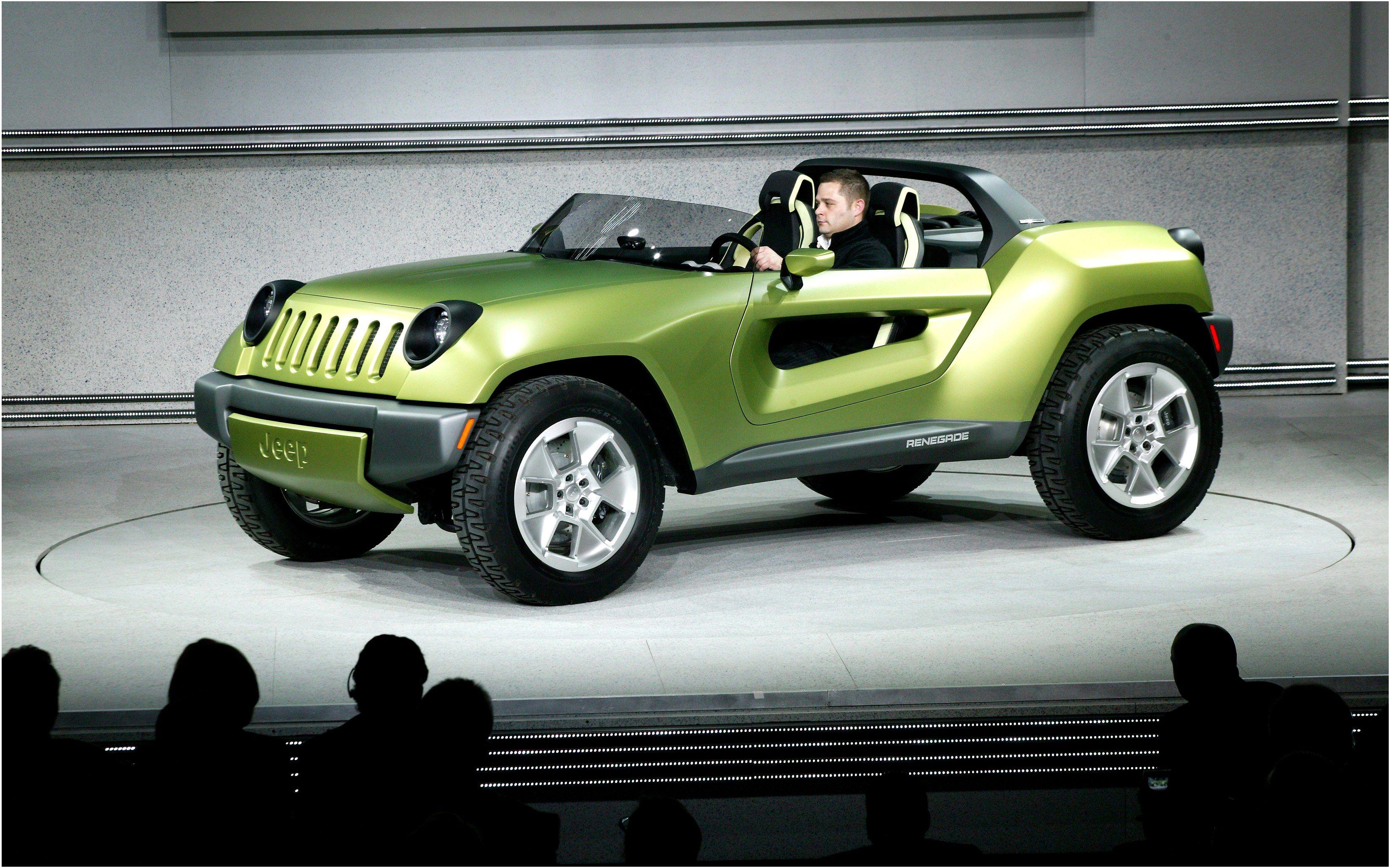Jeep Renegade Concept De 2008 Vehiculo Biplaza Hibrido Con Motor