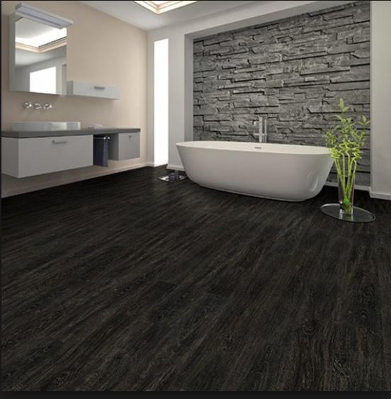 Luxury Vinyl Floors By Beaulieu At James Carpets Of Huntsville Al Laminate Flooring Bathroom Wood Floor Bathroom Wood Tile Bathroom