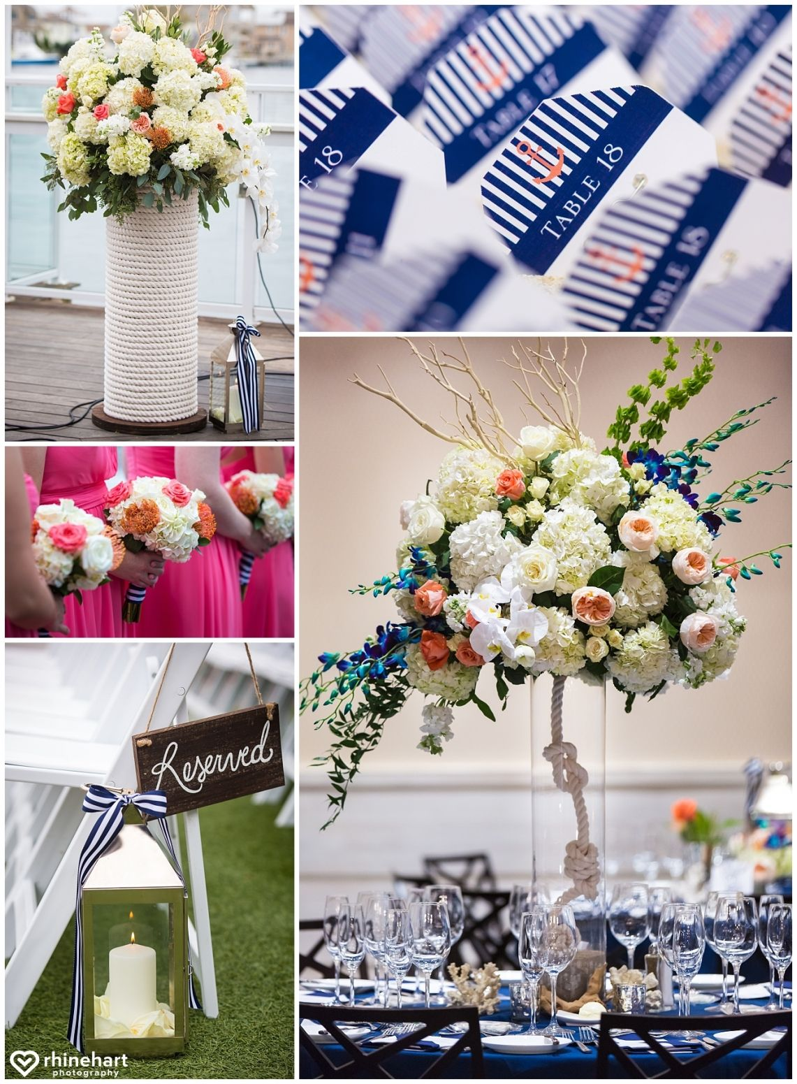 nautical wedding inspiration, elegant beach nautical preppy