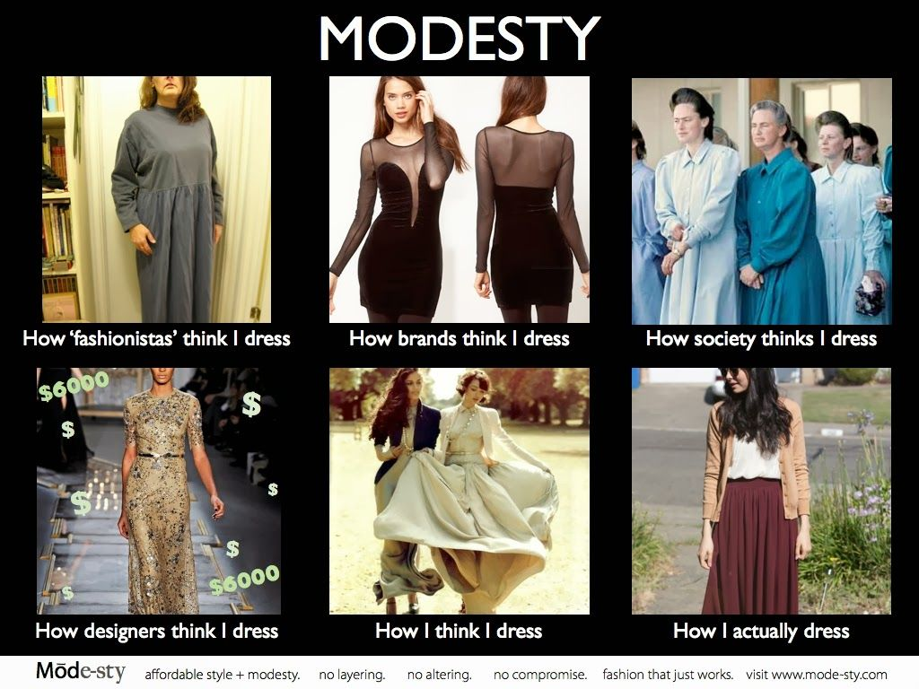 meme Mormon modesty