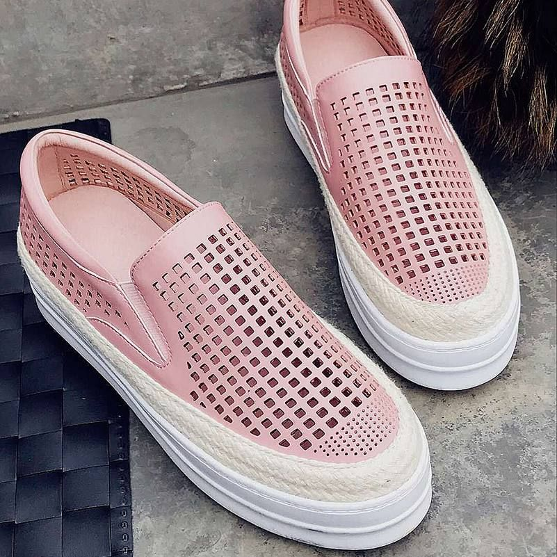 9a22d299f5c07c 2017 Superstar Classic Cut Outs Genuine Leather Loafers Slip on ...