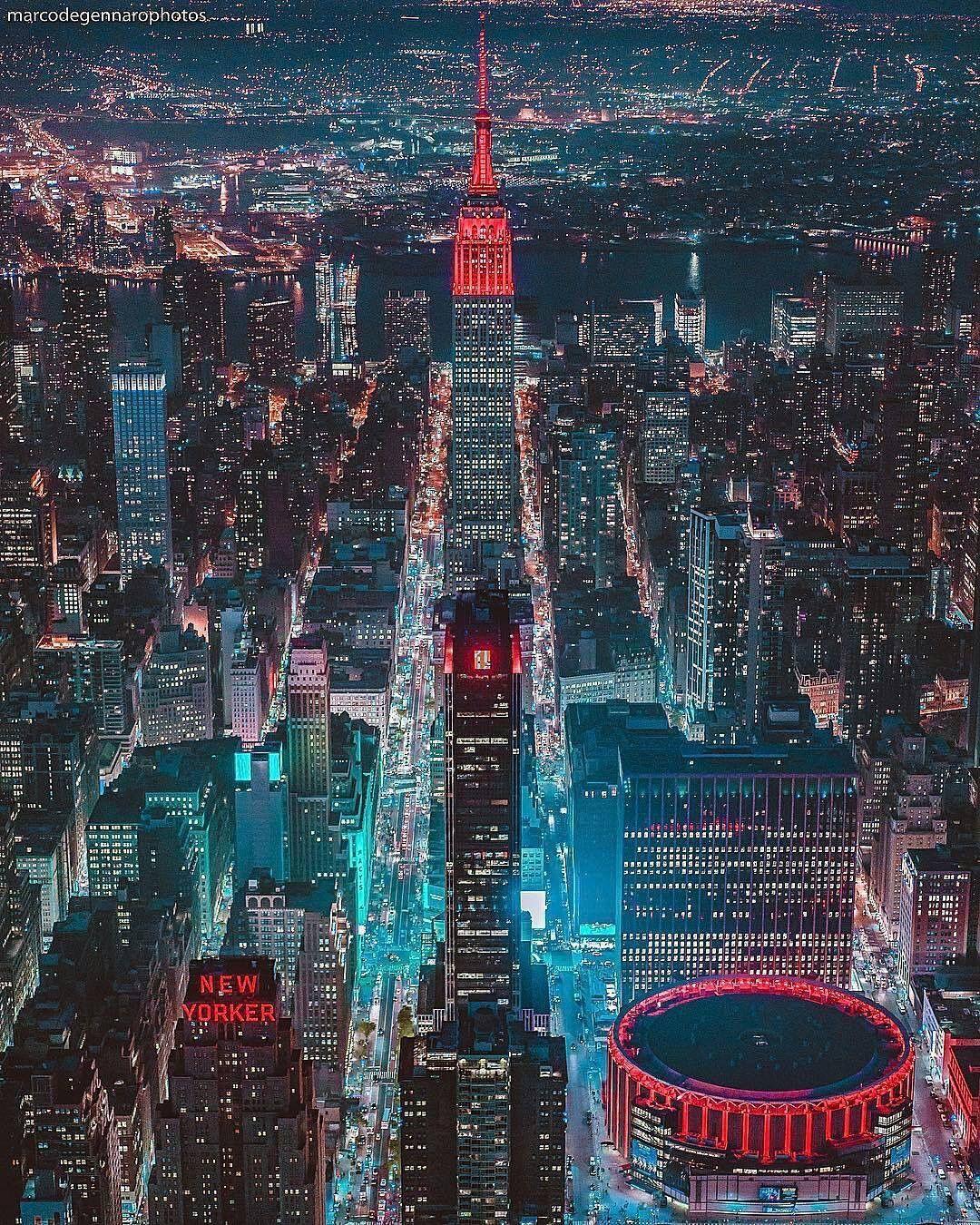 Pin Ot Polzovatelya Joann Shen Na Doske Night New York City Gorodskie Ogni Krasivye Mesta Pejzazhi
