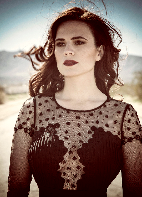 Hayley Atwell - richard-grayson: Documenting trips makes them...