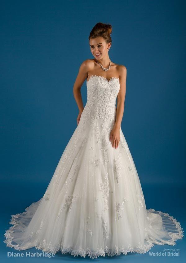 Diane Harbridge Spring 2015 Wedding Dresses