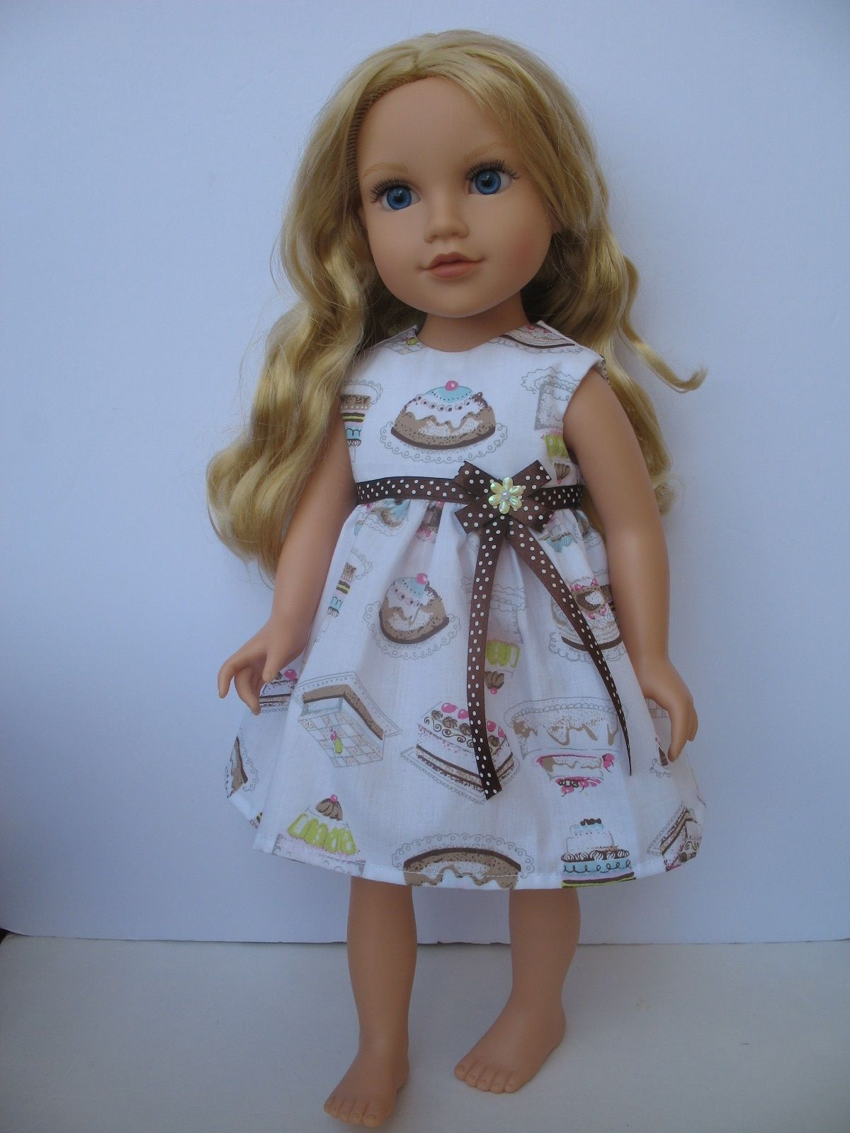 "Clothes for Journey Girl American Girl Madame Alexander Battat GOTZ18""Doll Dress 