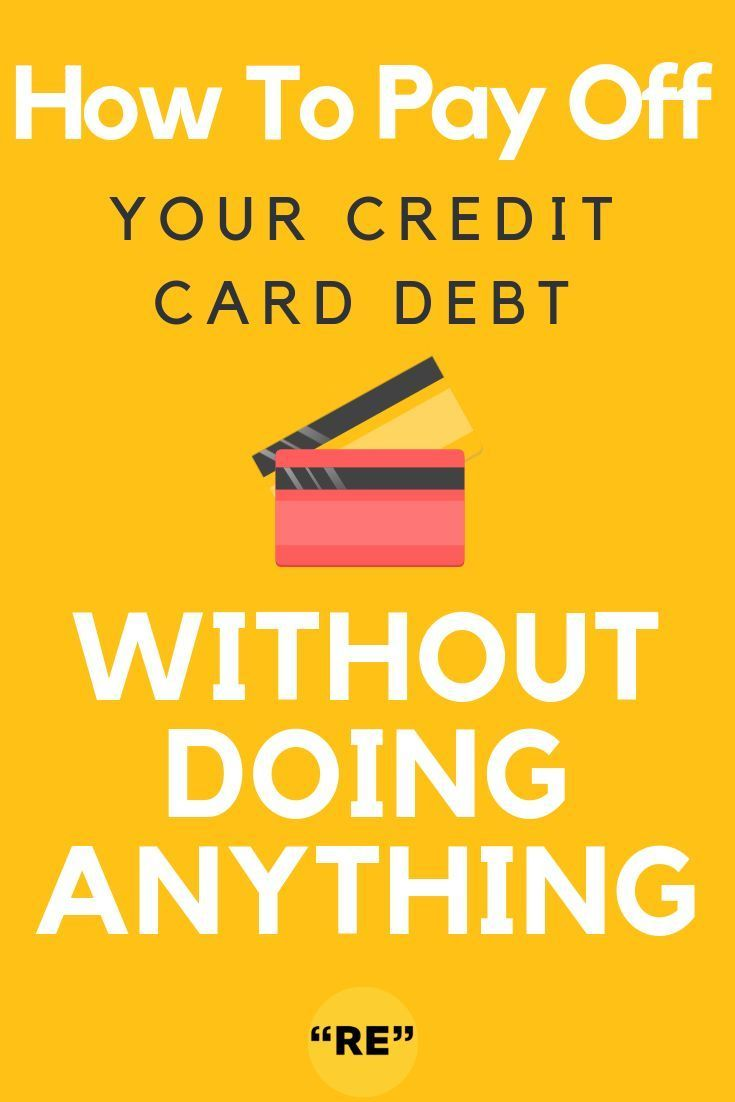 How to pay off your credit card debt without doing