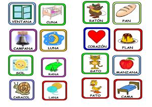 Memorama de rimas- 1° y 2° Grado - Recursos e información para docentes.