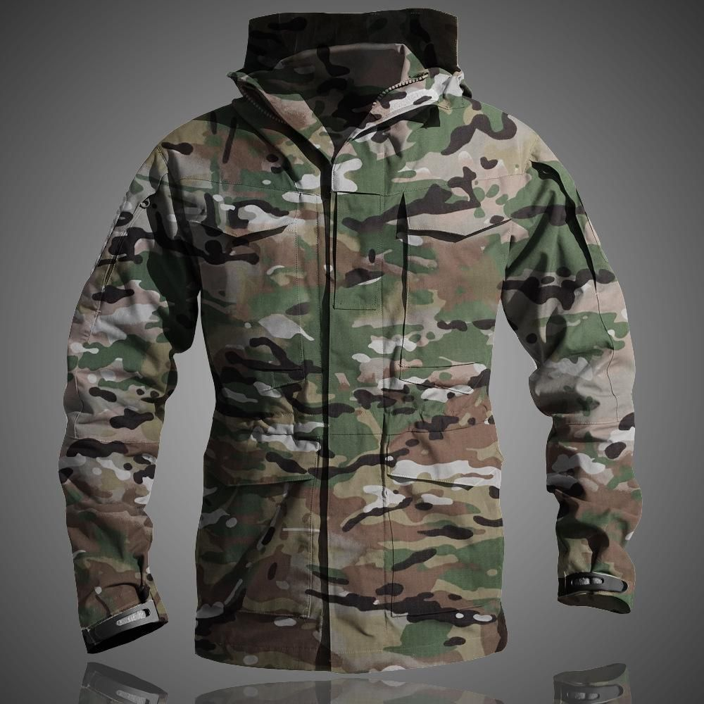 9495b6cdc2b M65 UK US Outdoors Men s Winter Army Military Tactical Clothes Windbreaker  Thermal Flight Pilot Coat