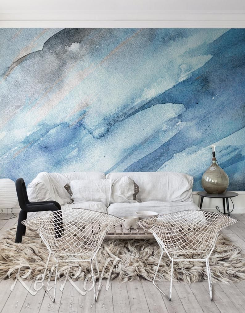 Cold Splash Removable Wallpaper Mural Wall Mural Abstract