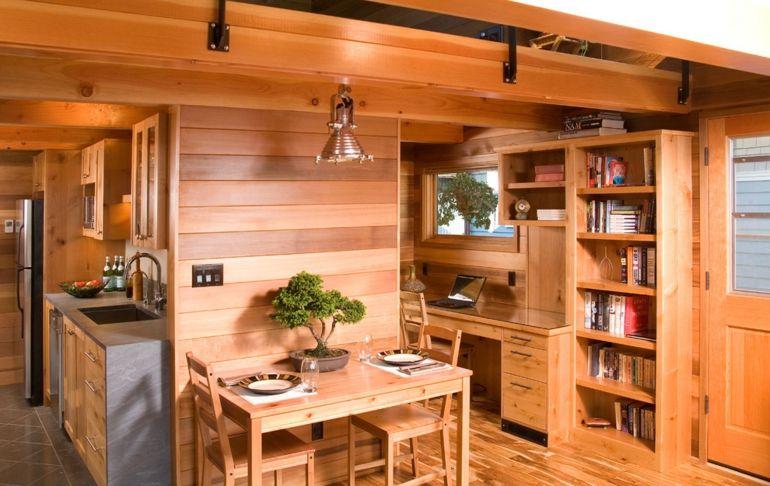Decoración de cocinas rústicas - 50 ideas originales | Madera, Casas ...